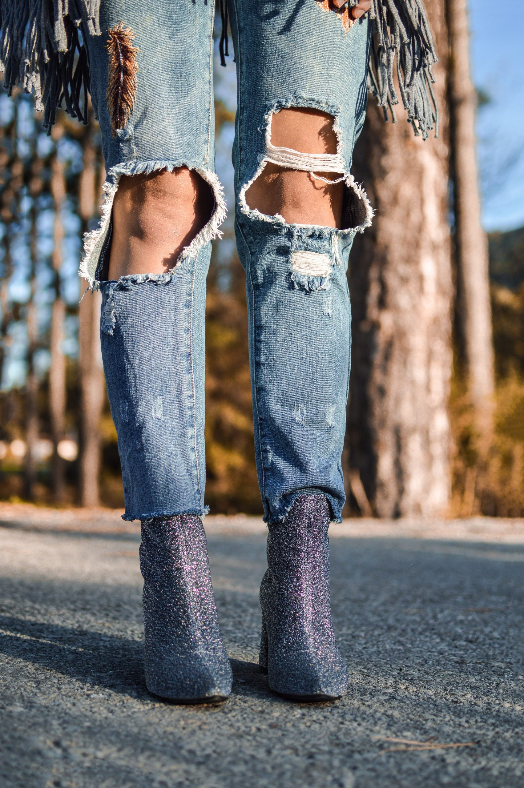 Favorite Ripped Jeans